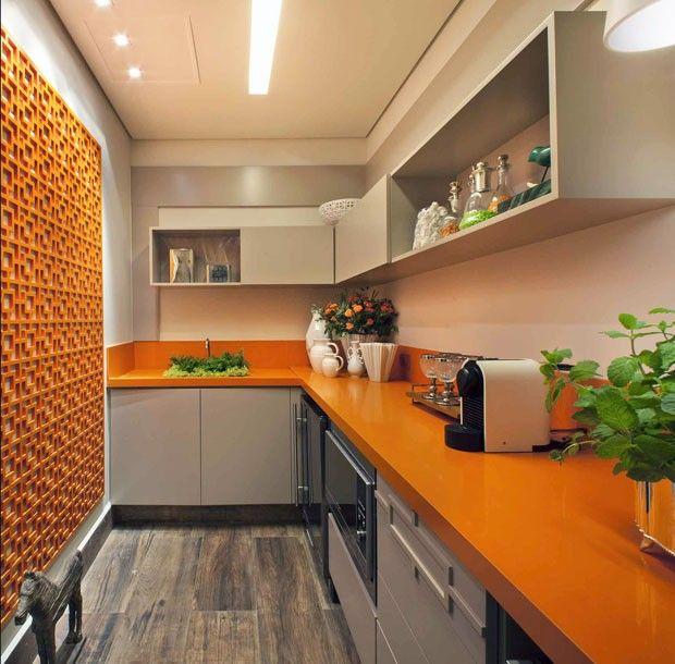 Decoração de cozinha moderna 14