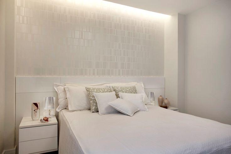 Decoração de quarto todo branco 2