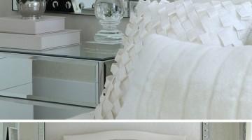 Decoração de quarto todo branco