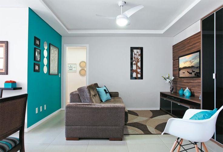 Decoração de sala pequena 4