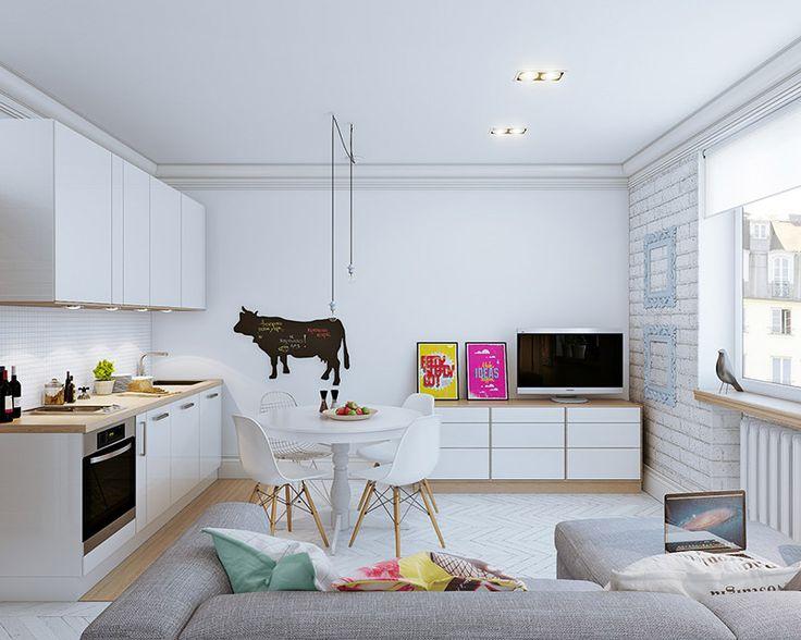 Decoração de sala pequena 7