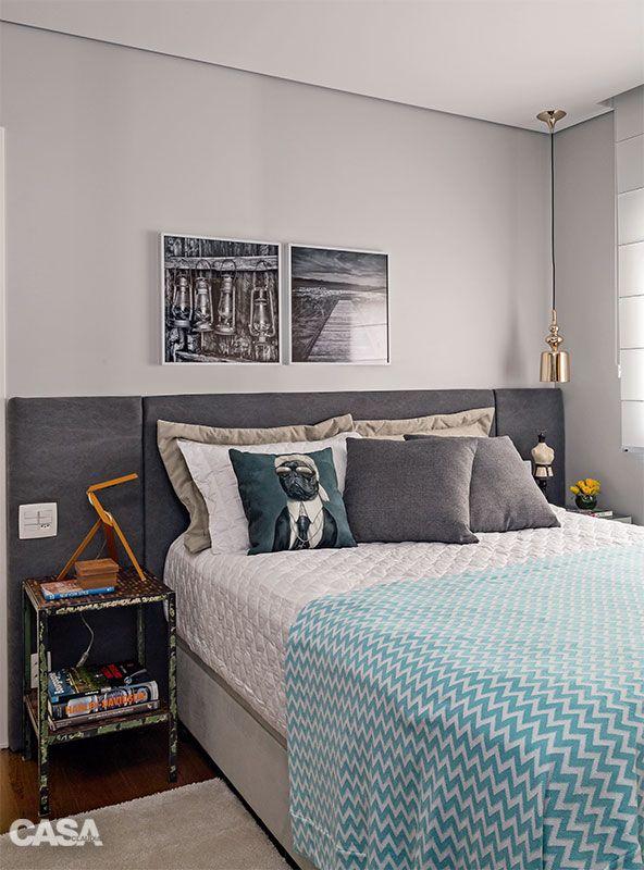 Cabeceiras de cama pra fazer ou comprar 15