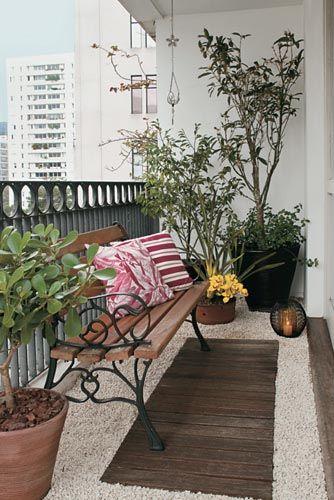 Como decorar varandas e sacadas pequenas 12