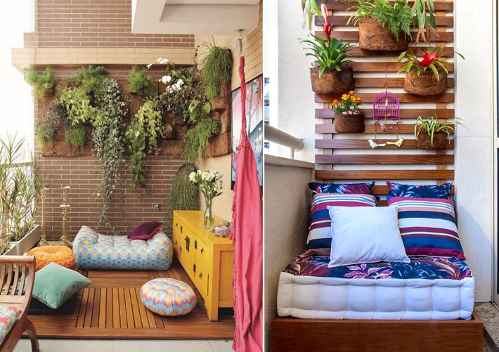 Como decorar varandas e sacadas pequenas 2