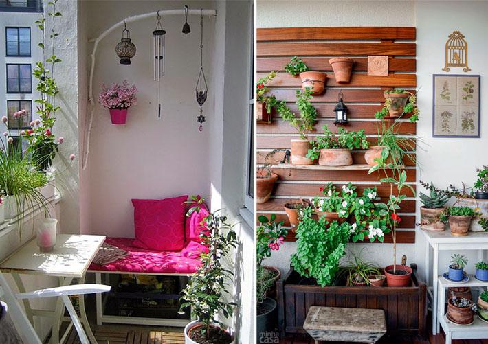 Como decorar varandas e sacadas pequenas 4