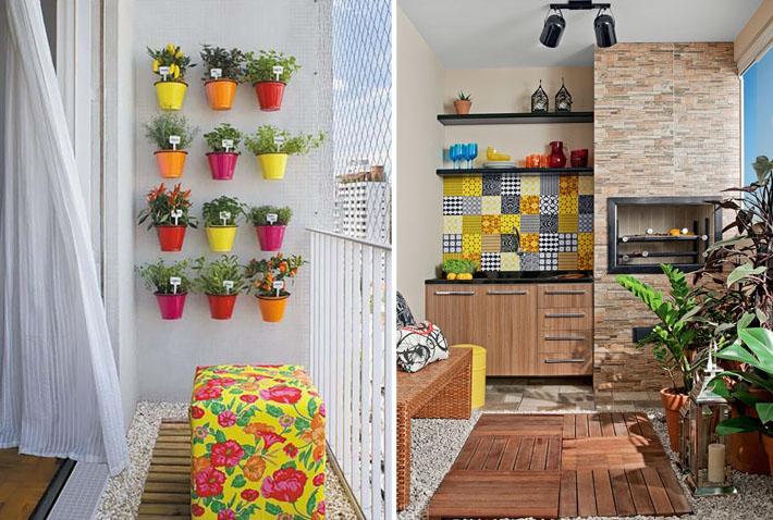 Como decorar varandas e sacadas pequenas 5