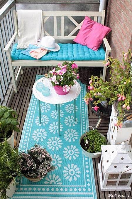 Como decorar varandas e sacadas pequenas 9