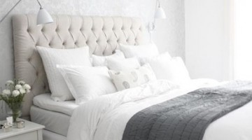 Decoração de quarto relaxante