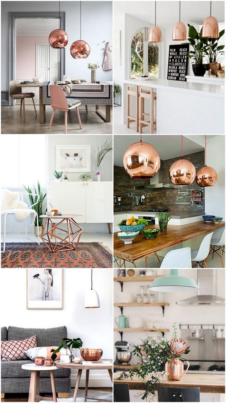 Como usar cobre na decoração 5