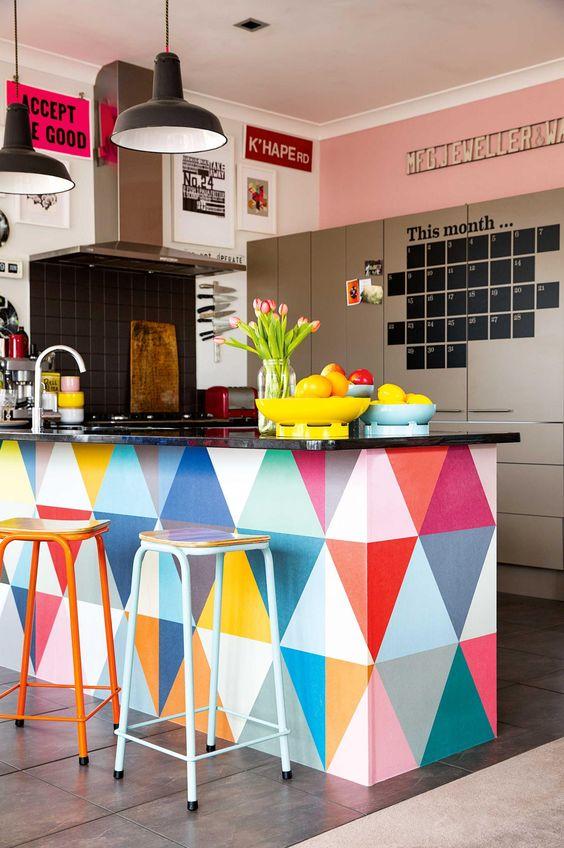 Cozinhas coloridas 13