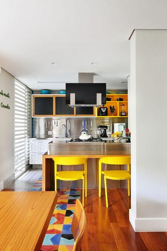 Cozinhas coloridas 9