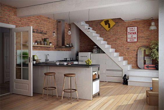 Escada na decoração 10