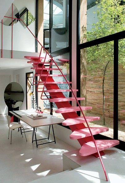 Escada na decoração 3