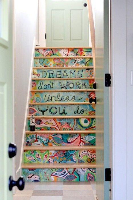 Escada na decoração 6