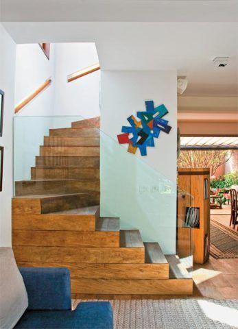 Escada na decoração 8