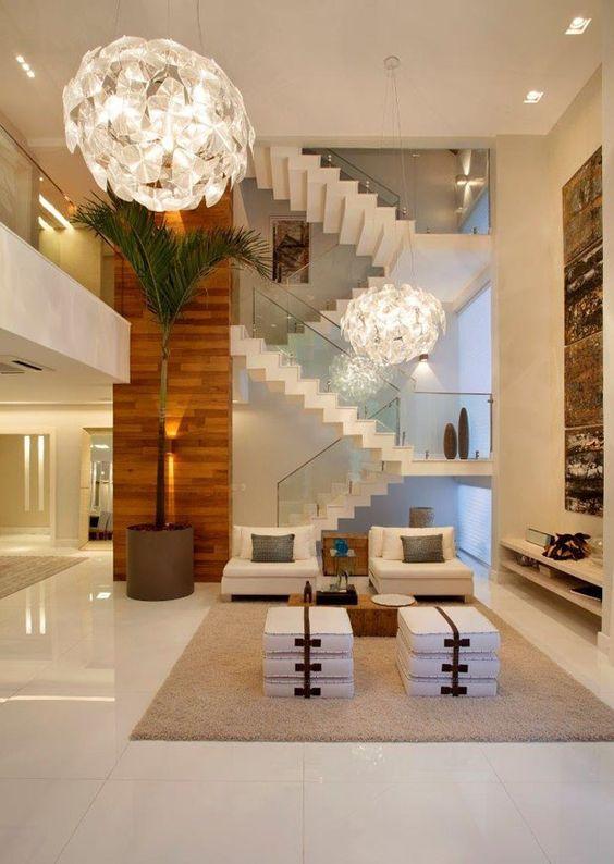 Decoracao De Sala Com Escada ~ Escada na decoração