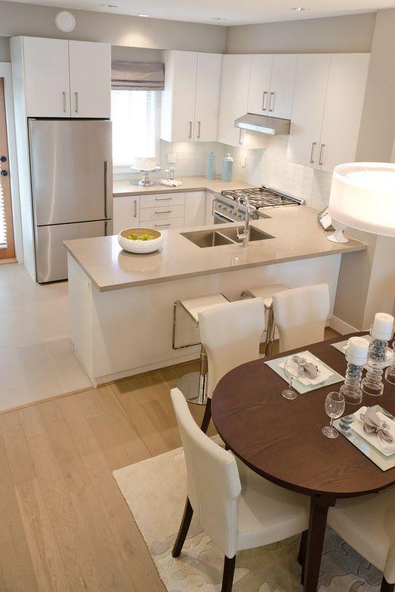 Como mobiliar um apartamento pequeno e simples 10