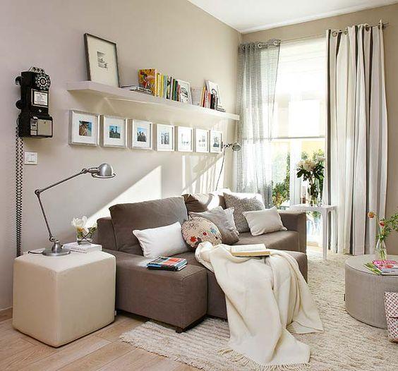 Como mobiliar um apartamento pequeno e simples 12