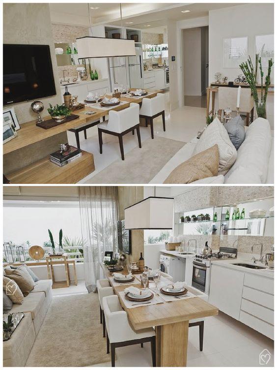 Como mobiliar apartamento pequeno e simples 3