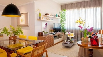 Como mobiliar um apartamento pequeno e simples