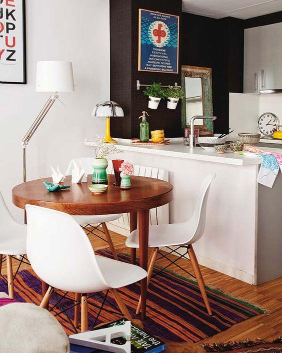 Como mobiliar um apartamento pequeno e simples 5