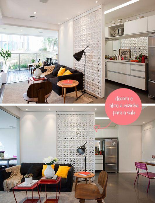 Como mobiliar um apartamento pequeno e simples 7