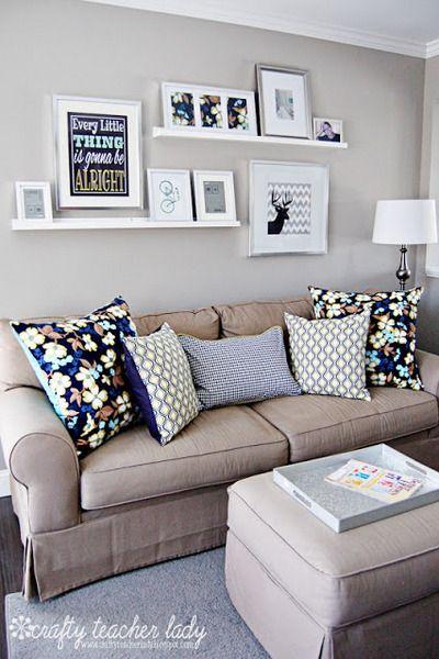 Como dispor móveis em uma sala pequena 10