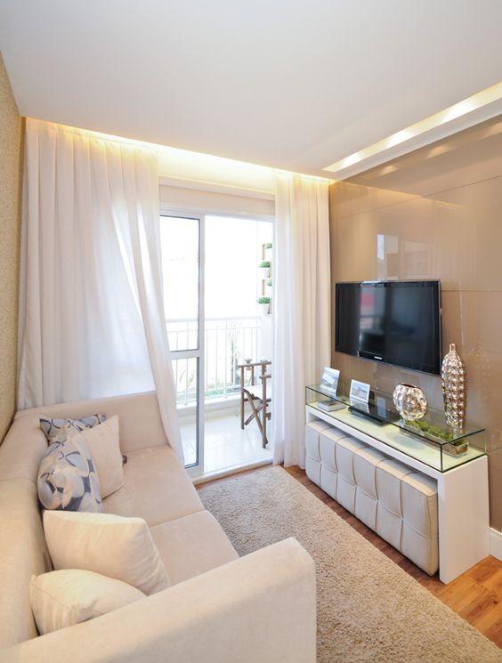 Como dispor móveis em uma sala pequena 11