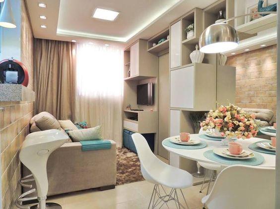 Como dispor móveis em uma sala pequena 13