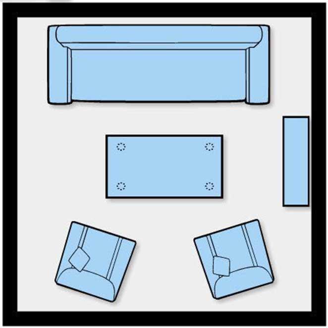 Como dispor móveis em uma sala pequena 4