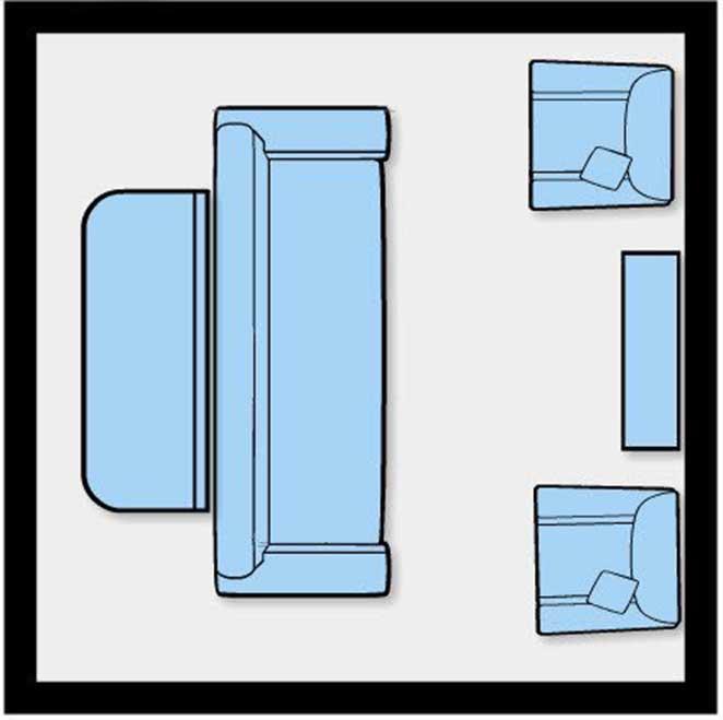 Como dispor móveis em uma sala pequena 5