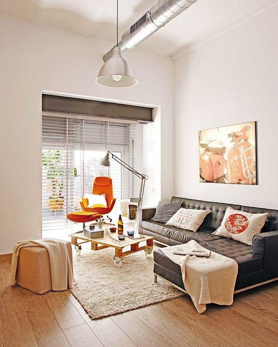 Como dispor móveis em uma sala pequena 7
