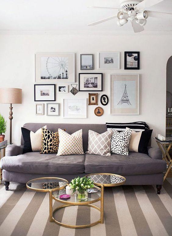 Como dispor móveis em uma sala pequena