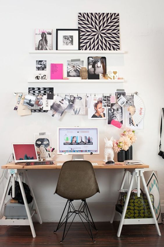 Como organizar o home office 10