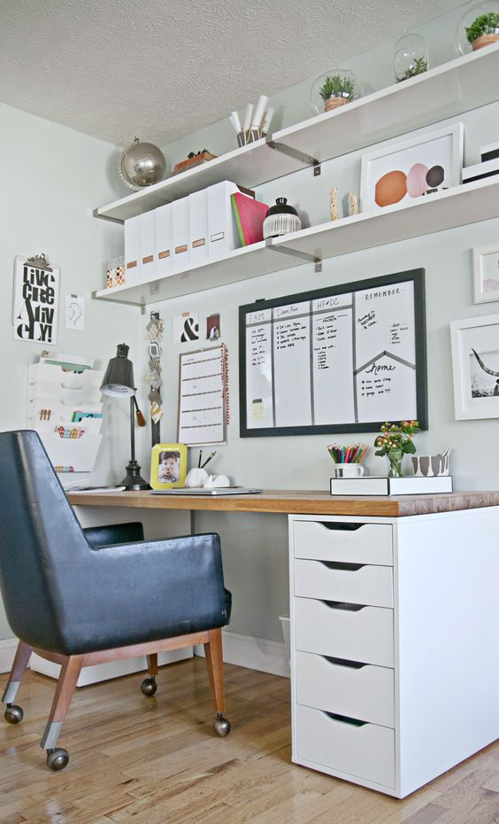 Como organizar o home office 13
