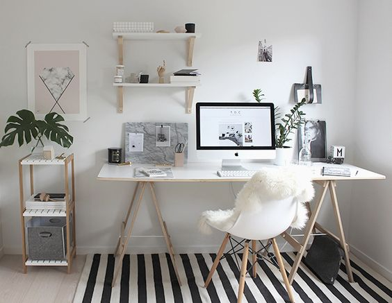 Como organizar o home office 2