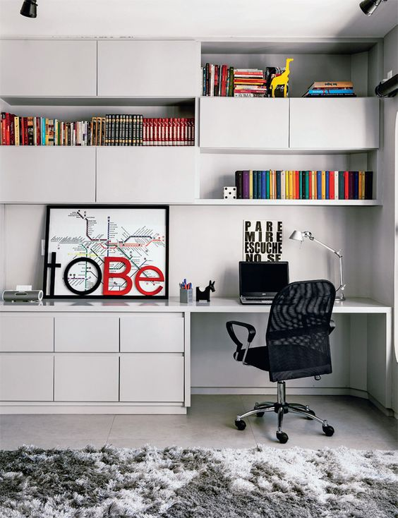 Como organizar o home office 5