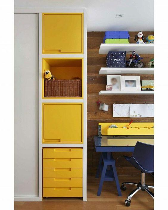 Decoração de quarto colorido 6