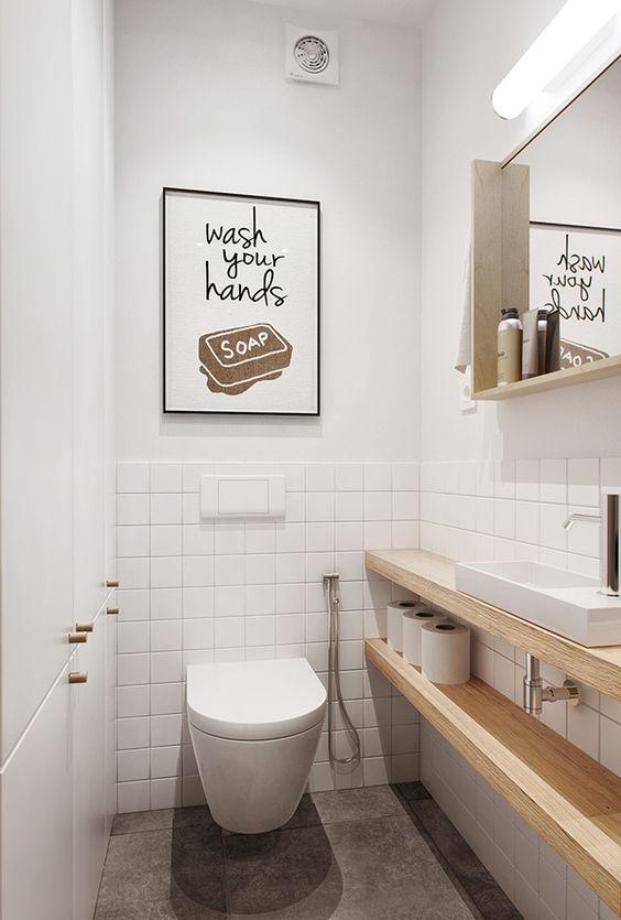 Inspirações de banheiros para 2016 17