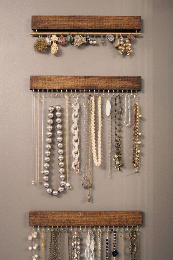 Como organizar bijuterias 2