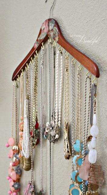 Como organizar bijuterias 6