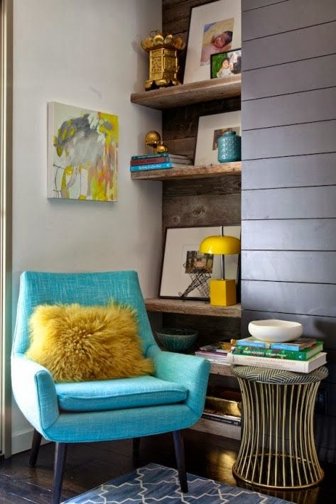 Decorar com poltronas coloridas 9