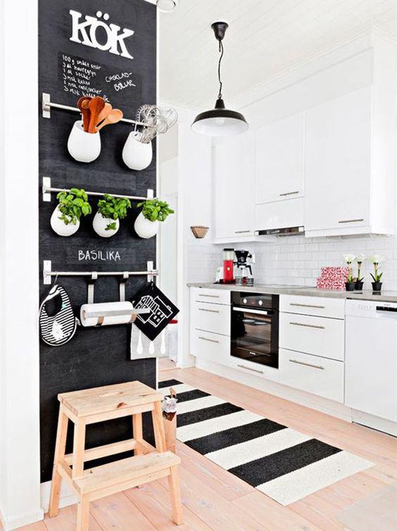 Dicas e inspirações tapetes para cozinha 2