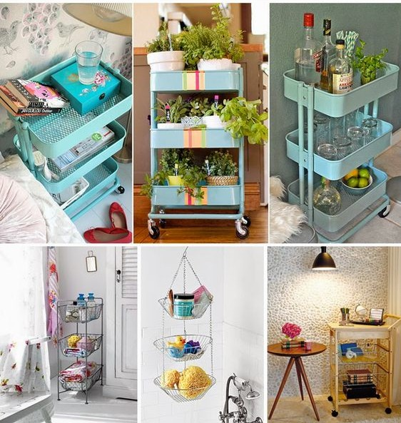 Reutilizar objetos da cozinha na decoração 2