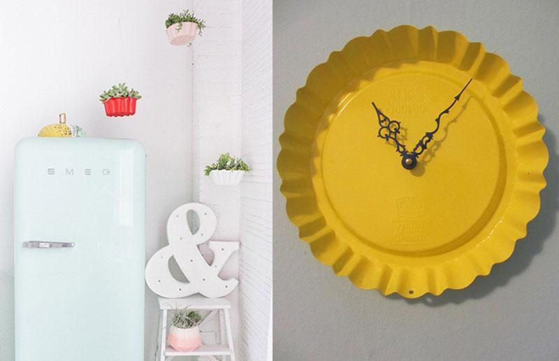 Reutilizar objetos da cozinha na decoração 3