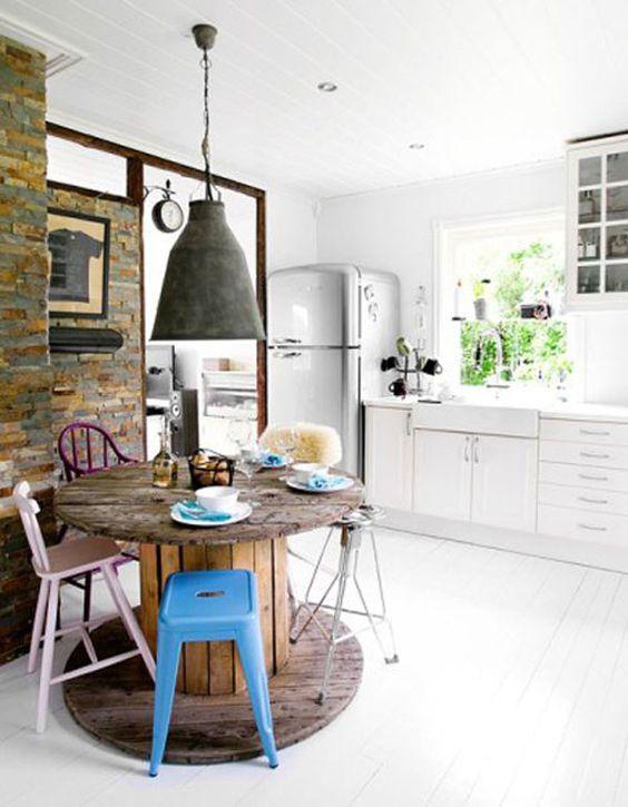 Reutilizar objetos da cozinha na decoração