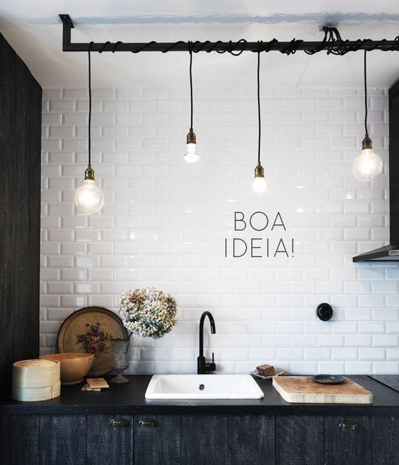 Ideias econômicas para decorar cozinha