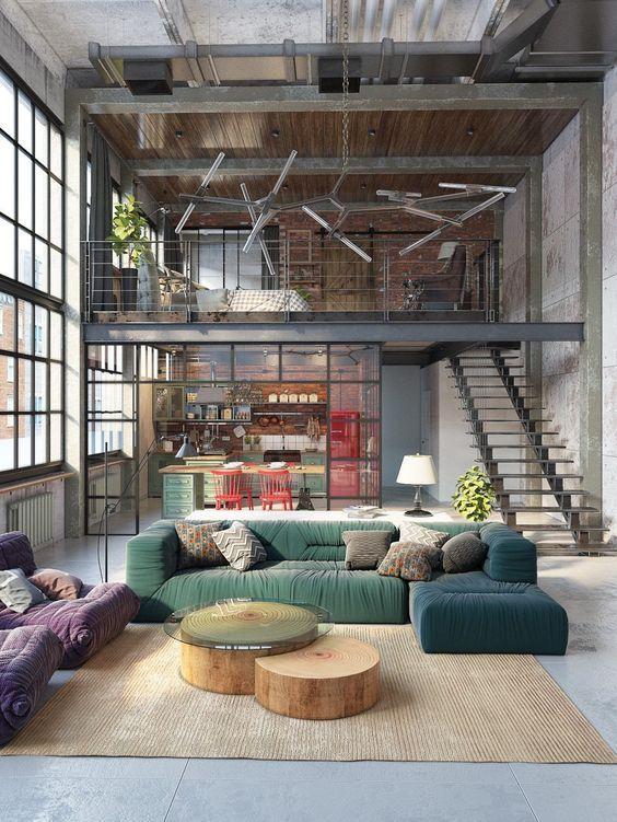 Decorar com sofá colorido 3