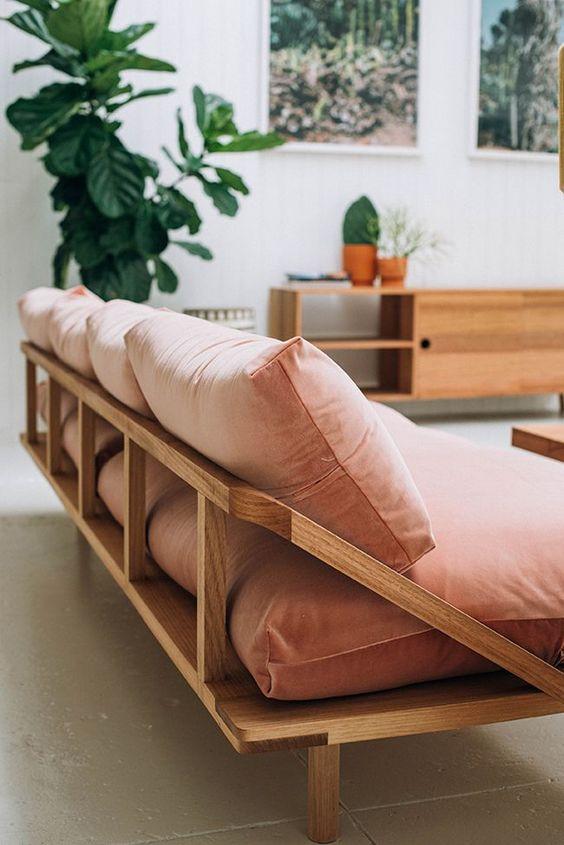 Decorar com sofá colorido
