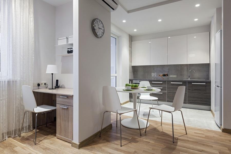 Home Office na cozinha 4
